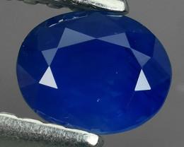 Natural Intense Beautiful Blue Sapphire Oval Shape srilanka