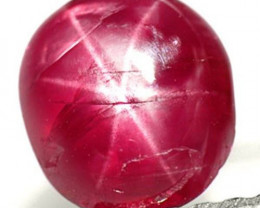 Burma Star Ruby, 1.18 Carats, Maroonish Red Oval