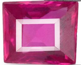 Mozambique Ruby, 0.34 Carats, Pinkish Red Rectangular