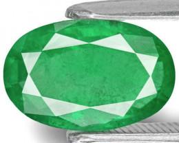 Zambia Emerald, 2.68 Carats, Intense Green Oval