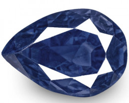 GRS Certified Madagascar Blue Sapphire, 3.69 Carats, Royal Blue