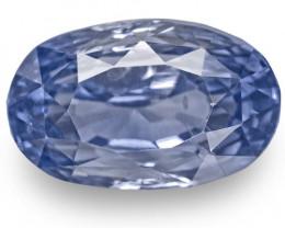 GIA Certified Sri Lanka Blue Sapphire, 6.83 Carats, Lively Vivid Blue Oval