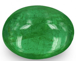 Zambia Emerald, 1.20 Carats, Deep Green Oval