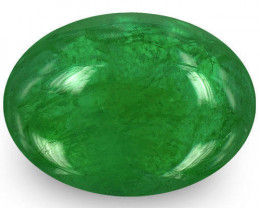 Zambia Emerald, 1.31 Carats, Royal Green Oval