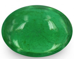 Zambia Emerald, 1.00 Carats, Deep Green Oval