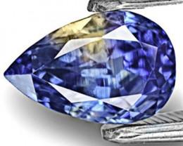 IGI Certified Kashmir Blue Sapphire, 2.15 Carats, Pear