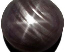 Sierra Leone Fancy Star Sapphire, 10.11 Carats, Greyish Purple Round