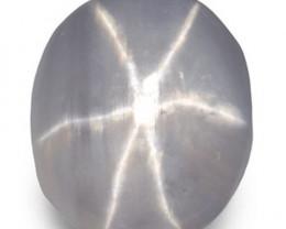 Sri Lanka Fancy Star Sapphire, 1.66 Carats, Greyish White Oval