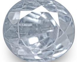 GIA Certified Kashmir Blue Sapphire, 2.30 Carats, Very Light Violetish Blue