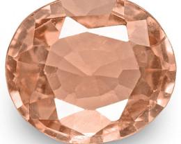 IGI Certified Sri Lanka Padparadscha Sapphire, 0.79 Carats, Pinkish Orange