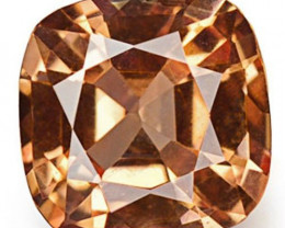 IGI Certified Sri Lanka Padparadscha Sapphire, 0.25 Carats, Deep Orange