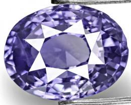 IGI Certified Sri Lanka Fancy Sapphire, 3.83 Carats, Oval