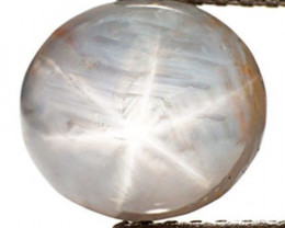 Sri Lanka Fancy Star Sapphire, 5.71 Carats, Grey Oval