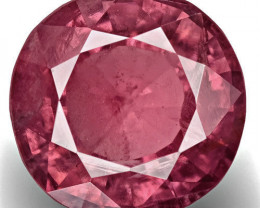 GIA Certified Pakistan Pink Sapphire, 2.55 Carats, Velvety Purple Pink