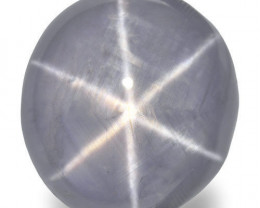 Sri Lanka Fancy Star Sapphire, 20.43 Carats, Soft Greyish Violet Oval