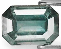 AIGS Certified Madagascar Fancy Sapphire, 4.52 Carats, Deep Blue Green