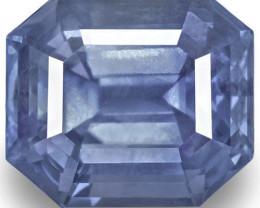 GRS Certified Sri Lanka Blue Sapphire, 10.17 Carats, Medium Blue