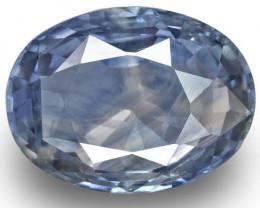 GIA & IGI Certified Kashmir Blue Sapphire, 10.43 Carats, Oval