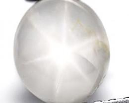 Sri Lanka Fancy Star Sapphire, 3.04 Carats, Yellowish Grey Oval