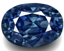 GRS Certified Sri Lanka Blue Sapphire, 13.54 Carats, Deep Royal Blue Oval