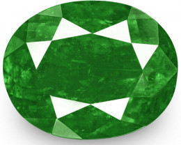Colombia Emerald, 2.90 Carats, Royal Green Oval