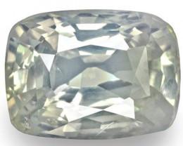 GIA & IGI Certified Kashmir Blue Sapphire, 5.92 Carats, Cushion