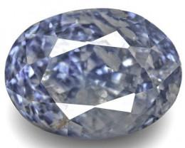GIA & IGI Certified Kashmir Blue Sapphire, 6.02 Carats, Blue Oval