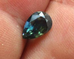 1.80cts Natural Australian Blue Sapphire Pear Shape