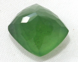 15 Crt Natural Serpentine Faceted Gemstone 26