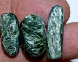 GREEN SERAPHINITE  34 CTS ADG-350
