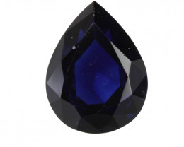 cts Natural Australian Blue Sapphire Pear Shape