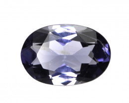 0.91cts Violetish/Blue Iolite Oval Cut