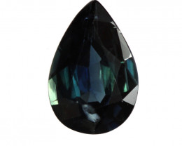 1.44cts Natural Australian Blue Sapphire Pear Shape