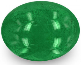 Zambia Emerald, 1.97 Carats, Deep Green Oval