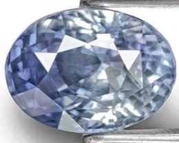 GIA & IGI Certified Kashmir Blue Sapphire, 6.48 Carats, Oval