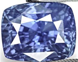 GIA Certified Sri Lanka Blue Sapphire, 5.10 Carats, Lively Intense Blue