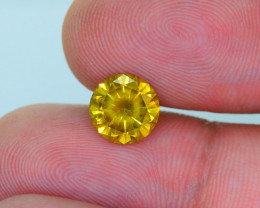AIG~Cert~1.59 ct Natural Diamond Vivid Yellow~$6000,00