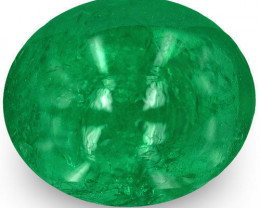 Zambia Emerald, 2.00 Carats, Bright Green Oval