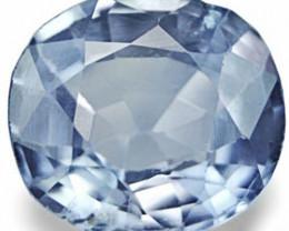 Burma Blue Sapphire, 1.13 Carats, Vivid Blue Oval