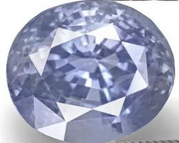 GIA Certified Sri Lanka Blue Sapphire, 5.00 Carats, Intense Blue Oval