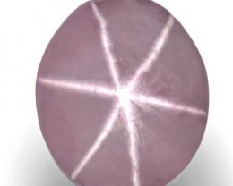 Sri Lanka Fancy Star Sapphire, 3.87 Carats, Soft Pink Oval