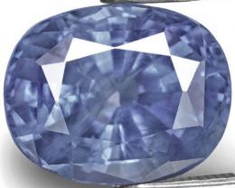 GIA & GII Certified Sri Lanka Blue Sapphire, 5.97 Carats, Intense Blue Oval