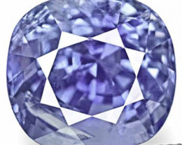 IGI Certified Sri Lanka Blue Sapphire, 2.59 Carats, Fiery Intense Blue