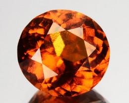 2.34 Cts Natural Hessonite Garnet Cinnamon Orange Round Mixed