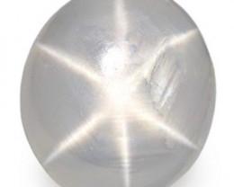 Burma Fancy Star Sapphire, 2.00 Carats, Grey Oval