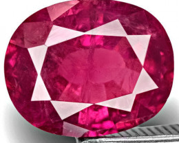 GIA Certified Pakistan Pink Sapphire, 2.14 Carats, Vivid Purple Pink Oval