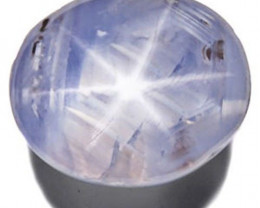 Sri Lanka Fancy Star Sapphire, 5.12 Carats, White / Colorless Oval