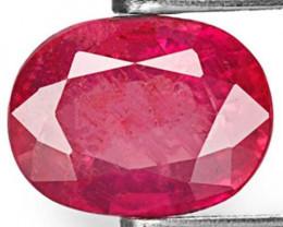 Tanzania Pink Sapphire, 1.78 Carats, Purplish Pink Oval
