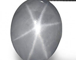 Sri Lanka Fancy Star Sapphire, 2.82 Carats, Bluish Grey Oval