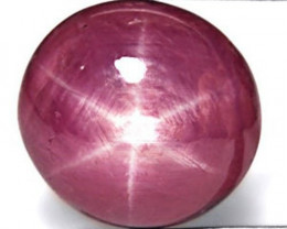 India Star Ruby, 6.31 Carats, Pinkish Red Oval